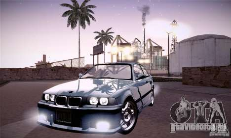 BMW E36 M3 Coupe - Stock для GTA San Andreas