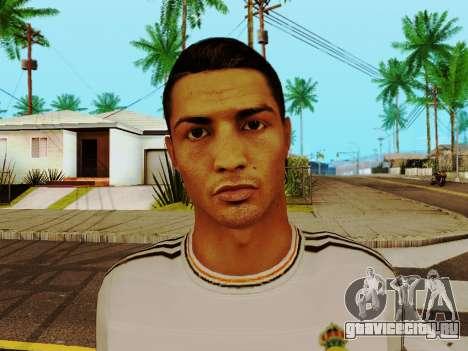 Криштиану Роналду v1 для GTA San Andreas шестой скриншот
