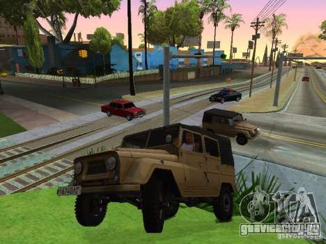 УАЗ 460 для GTA San Andreas вид справа