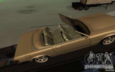 New Feltzer для GTA San Andreas вид сзади