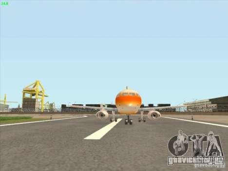 Sukhoi Superjet-100 для GTA San Andreas вид слева