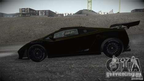 Lamborghini Gallardo LP560-4 GT3 для GTA San Andreas вид слева