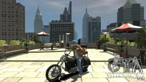 Zombie Bike Paintjob для GTA 4