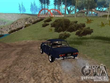 Москвич Побитый для GTA San Andreas вид справа