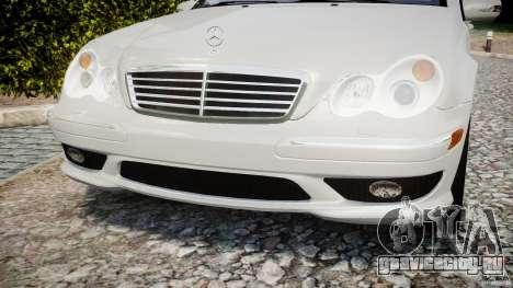 Mercedes-Benz C32 AMG 2004 для GTA 4 вид сбоку