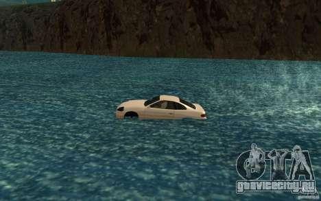 Alpha boat для GTA San Andreas вид слева