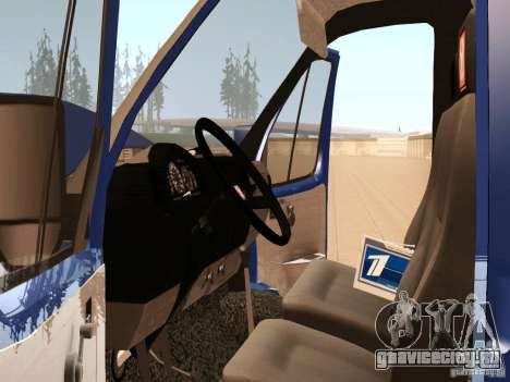 ГАЗель 3302 для GTA San Andreas вид сбоку
