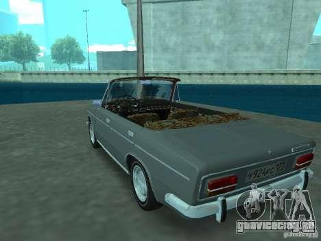 ВАЗ 2103 Cabrio для GTA San Andreas вид сзади слева