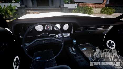 Ford Gran Torino 1975 v1.1 для GTA 4 вид сзади