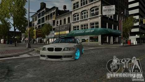 BMW 135i HellaFush для GTA 4 вид сзади