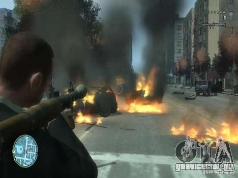 Intense Fire Mod для GTA 4 второй скриншот