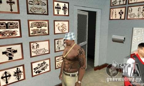 50cent_tatu для GTA San Andreas третий скриншот
