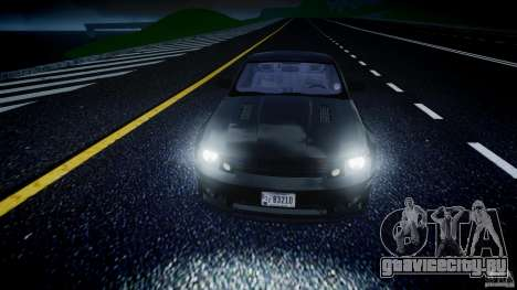 Saleen S281 Extreme Unmarked Police Car - v1.2 для GTA 4 вид сверху