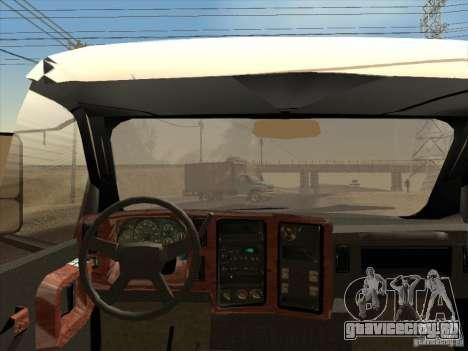 GMC 5500 2001 для GTA San Andreas вид сзади