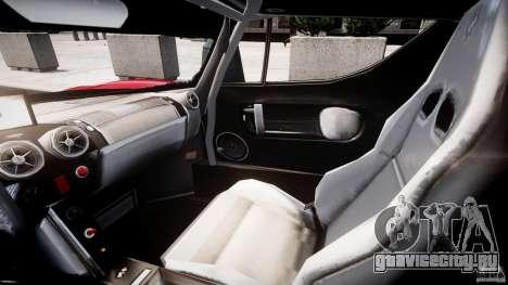 Ferrari FXX для GTA 4 вид сзади