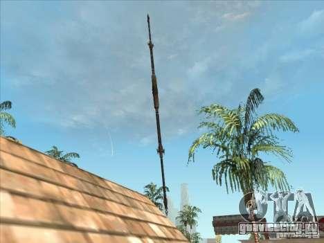 Копье Хищника для GTA San Andreas