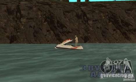 Hydrocycle для GTA San Andreas вид сзади слева