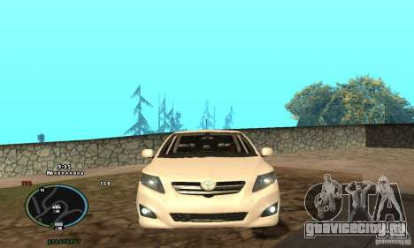 Toyota Corolla для GTA San Andreas вид слева