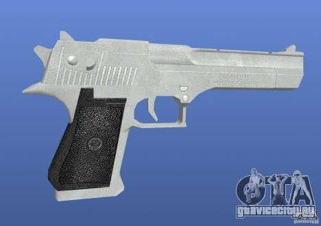 Silver Deagle для GTA 4 второй скриншот