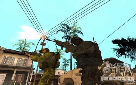 SCAR FN MK16 для GTA San Andreas третий скриншот