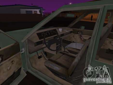 Машина из CoD:MW для GTA San Andreas вид сзади