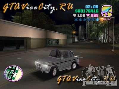 Mercedes-Benz G-Cabrio для GTA Vice City