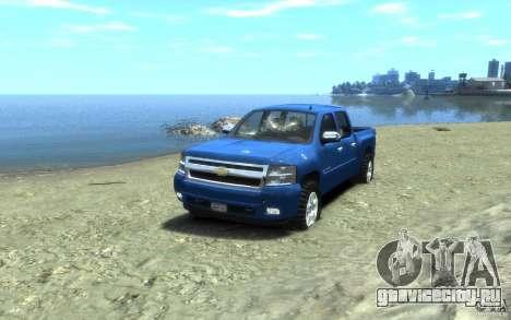 Chevrolet Silverado 2008 для GTA 4 вид снизу