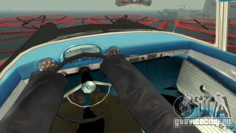 Smith Thunderbolt Mafia II для GTA 4 вид изнутри