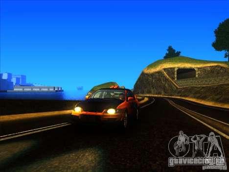 Mitsubishi Lancer Evolution IX MR для GTA San Andreas вид слева