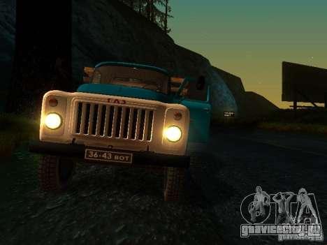 ГАЗ 53 для GTA San Andreas вид сверху