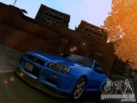 Realistic Graphics HD 3.0 для GTA San Andreas четвёртый скриншот