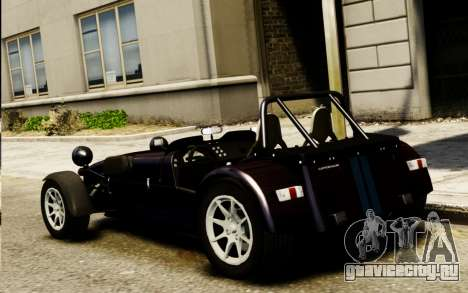 Caterham Superlight R500 v1.0 для GTA 4 вид слева