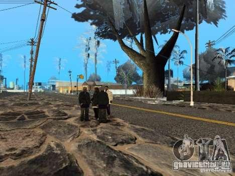Новый Год на Гроув Стрит для GTA San Andreas шестой скриншот