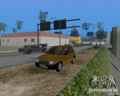 Fiat Mille Fire 1.0 2006 для GTA San Andreas вид сбоку