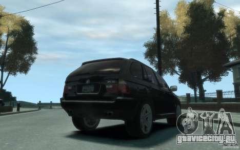 BMW X5 (E53f) 2004 для GTA 4 вид справа