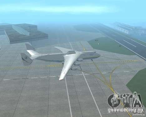 АН-225 Мрия для GTA San Andreas вид слева