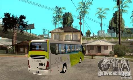 Marcopolo Viaggio G7 1050 Santur для GTA San Andreas вид справа