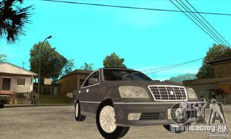 Toyota Crown Majesta S170 для GTA San Andreas вид снизу