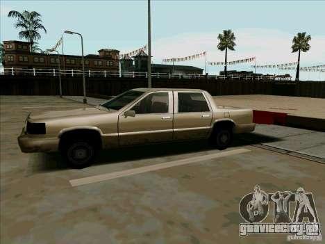 Короткий Лимузин для GTA San Andreas вид слева