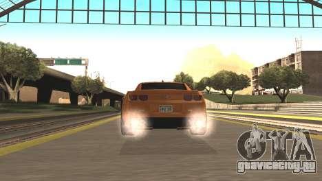 Chevrolet Camaro SS 2010 v2.0 Final для GTA San Andreas вид сзади слева