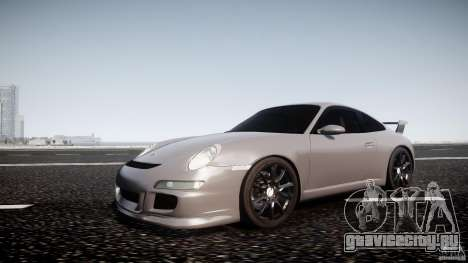 Porsche GT3 997 для GTA 4 вид слева
