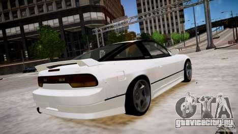 Nissan 240SX Drift для GTA 4 вид справа