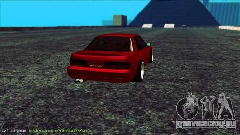 Nissan Onivia для GTA San Andreas вид сзади слева