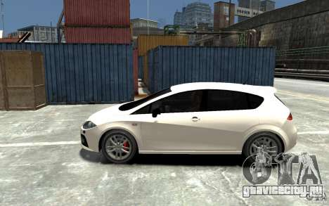 Seat Leon Cupra v.2 для GTA 4 вид слева