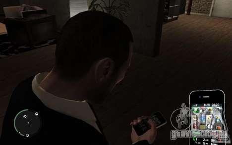 iPhone 4 black для GTA 4