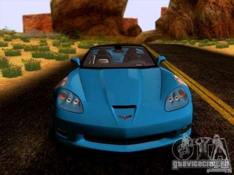 Chevrolet Corvette C6 Convertible 2010 для GTA San Andreas вид слева