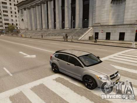 Dodge Caliber для GTA 4 вид снизу