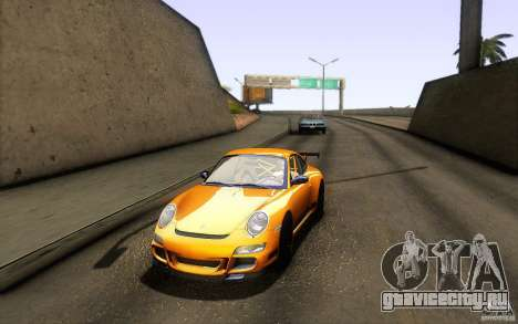 Porsche 911 GT3 RS для GTA San Andreas вид сзади