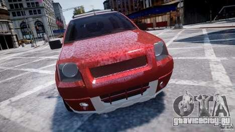 Ford EcoSport для GTA 4 вид изнутри