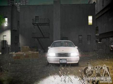 Chevrolet Caprice 1993 Rims 1 для GTA 4 вид сверху